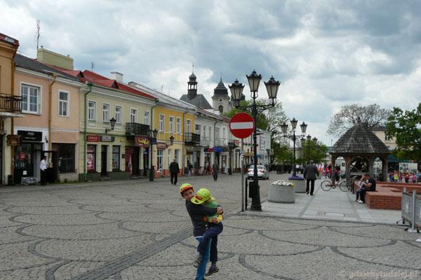 Plac Łuczkowskiego w Chełmie.
