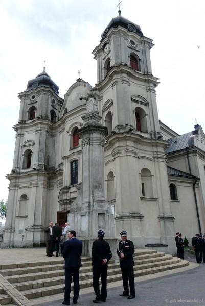 Barokowy kościół Rozesłania św. Apostołów (XVIII w.).