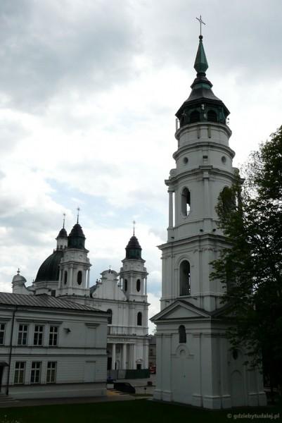 Zabytkowa zabudowa Góry Katedralnej (Chełmskiej, Zamkowej).