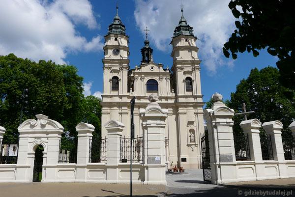 Barokowy kościół św. Ludwika.