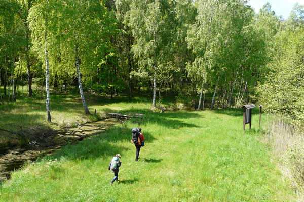 Ruszamy na drugą część ścieżki Obóz Powstańczy.