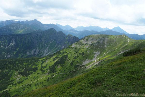 Przełęcz pod Kopą Kondracką - nasz cel!