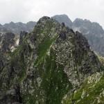 Widok na Zadni Granat z Pośredniego.