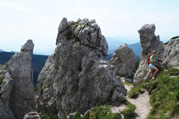 Formacje skalne mają tu niezwykłe kształty.