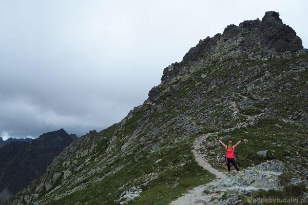 Udało się - jesteśmy na Przełęczy pod Chłopkiem.