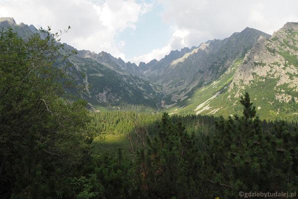 Widok na otoczenie Doliny Mięguszowieckiej.