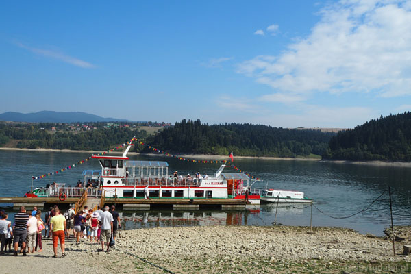 Gotowi na rejs po Jeziorze Czorsztyńskim.