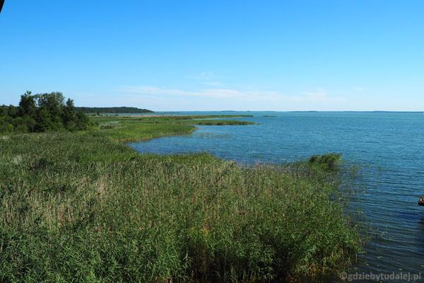 Jezioro Śniardwy z Łuknajna.