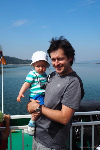 Grześ na Jeziorze Czorsztyńskim.