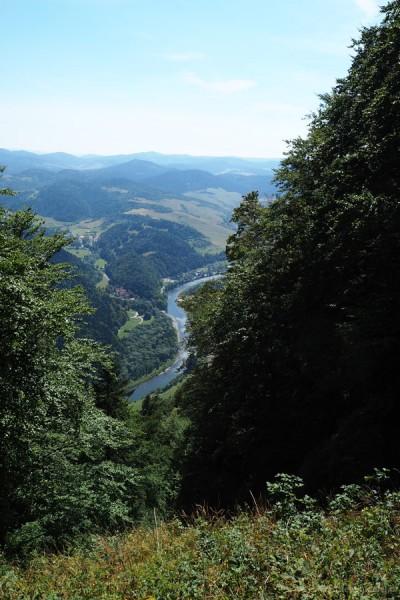 Dunajec mógłby być fotomodelką...