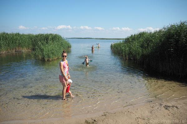 Kąpiel w Jeziorze Śniardwy.