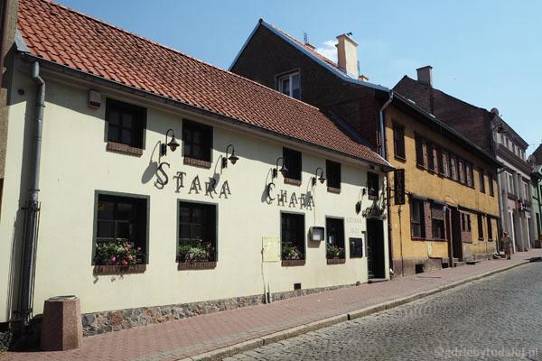 Jeden z najstarszych budynków w Mrągowie.