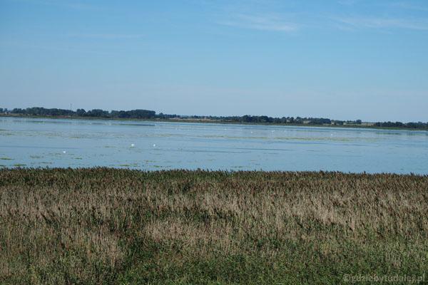 I znów Jezioro Łuknajno z góry.