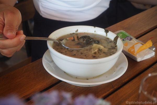 Zupa pokrzywowa... Mniam!.