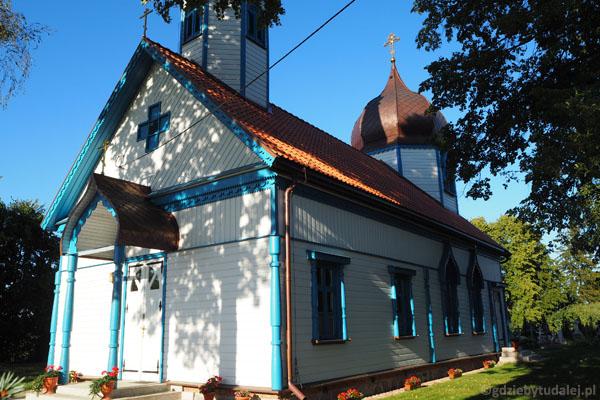W Wojnowie jest też cerkiew prawosławna (pocz. XX).