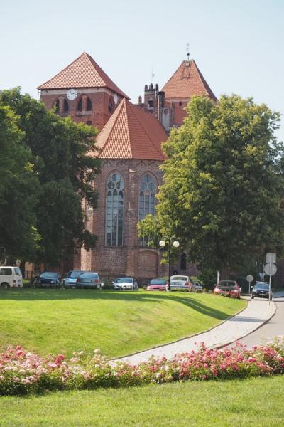 Gotycki kościół św. Jerzego, Kętrzyn.