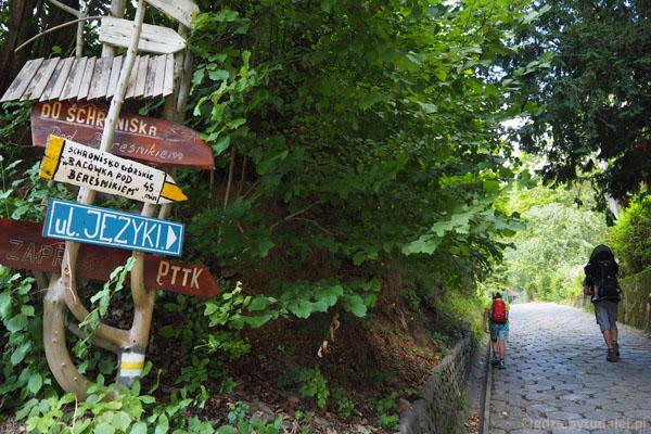 Ruszamy ze Szczawnicy do Bacówki pod Bereśnikiem.