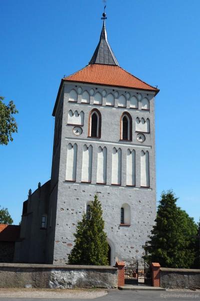 Gotycki Kościół w Szestnie (XV w., przeb.)