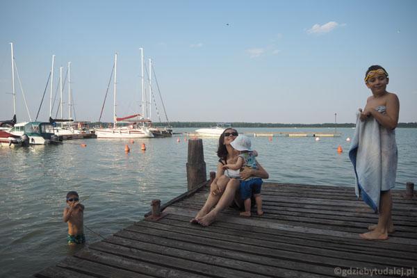 Nad Jeziorem Tałty.