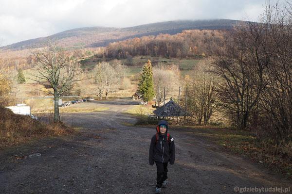 Ruszamy z Przełęczy Wyżniańskiej.