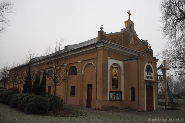 Budynek oranżerii obecnie mieści kaplicę.