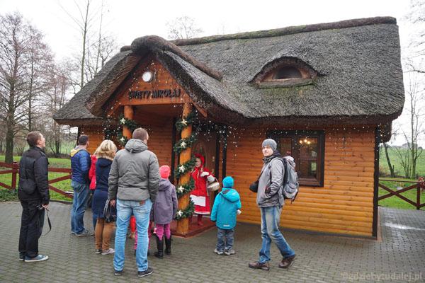 Mamy i domek Świętego Mikołaja