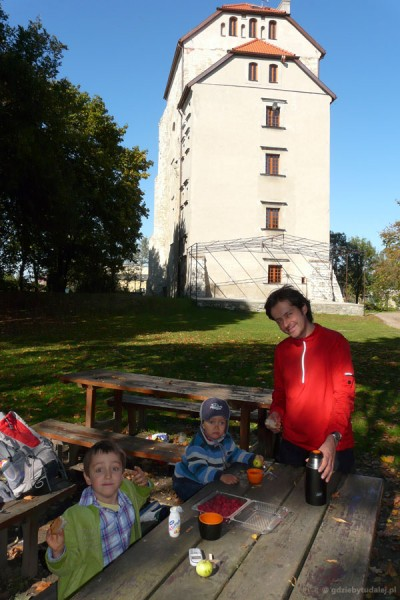 Piknik pod Wieżą Ariańską - jesteśmy tylko my!