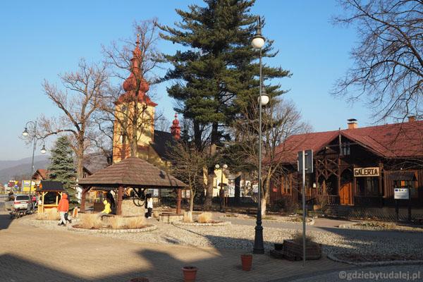 Krościenko - studnia upamiętnia 650-lecie założenia osady