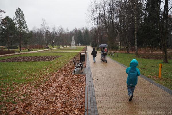 Park zdrojowy, Rabka Zdrój