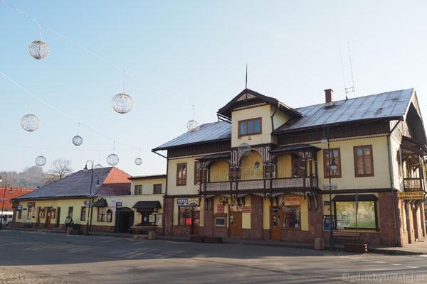 Ratusz w Krościenku, XIX w.
