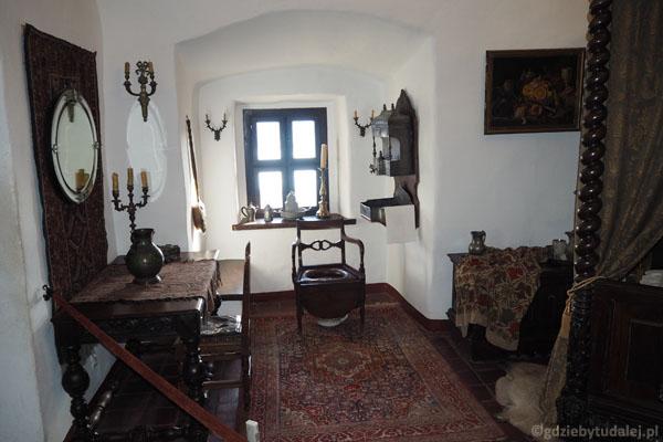 Pomieszczenia górnego zamku - sedes tronowy