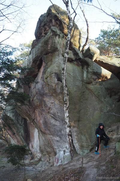 Nam bardzo przypominał się Kamień Leski