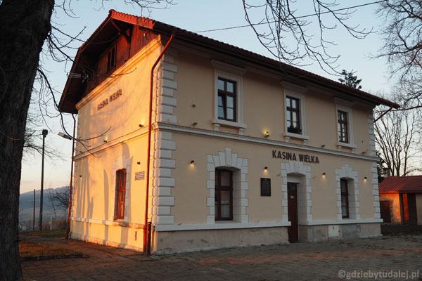 Stacja Kasina na dobranoc