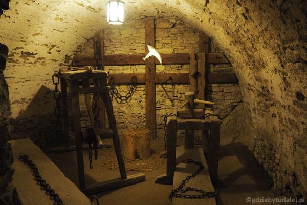 Sala tortur w kazamatach górnego zamku