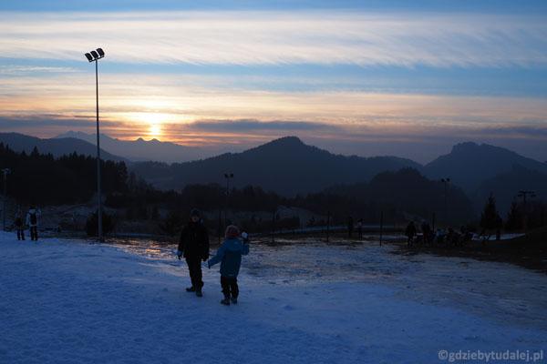 Widoki z Palenicy, od Tatr po Sokolicę
