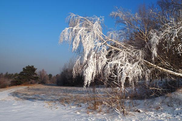 U podnóża Śnieżnicy wreszcie zima