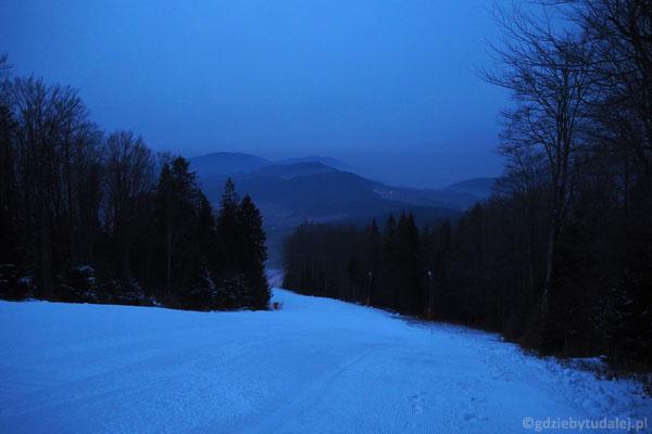 Stoki Śnieżnicy z wieczornego wypadu R.