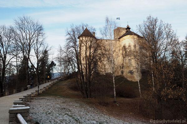 Ostatnie spojrzenia na zamek w Niedzicy