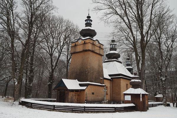 Cerkiew łemkowska w Hańczowej (2. poł. XIX w.).