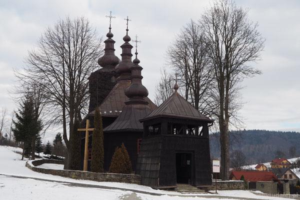 Banica, cerkiew św.św. Kosmy i Damiana (poł. XVIII w.).