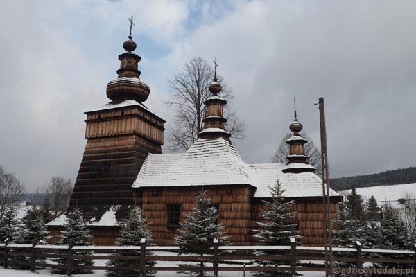 Dawna cerkiew (obecnie kościół) w Skwirtnem (1. poł. XIX w.).