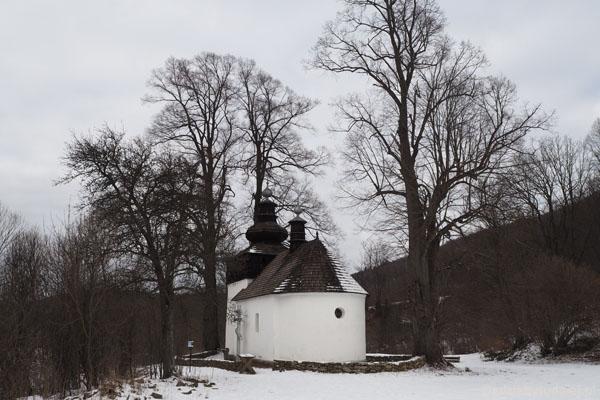 Cerkiew Św. Michała Archanioła (z 1796 r.) w opustoszałej Bielicznej.