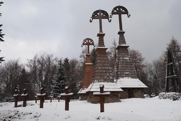 Cmentarz z okresu I wojny światowej na Rotundzie.