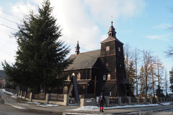 Drewniany kościół w Wysowej nie ma jeszcze 100 lat