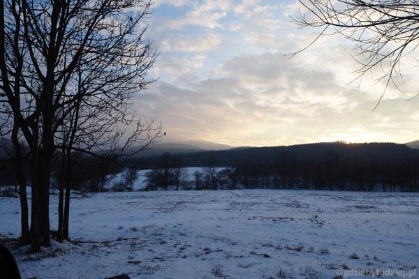 Beskid Niski z okolicy Blechnarki.