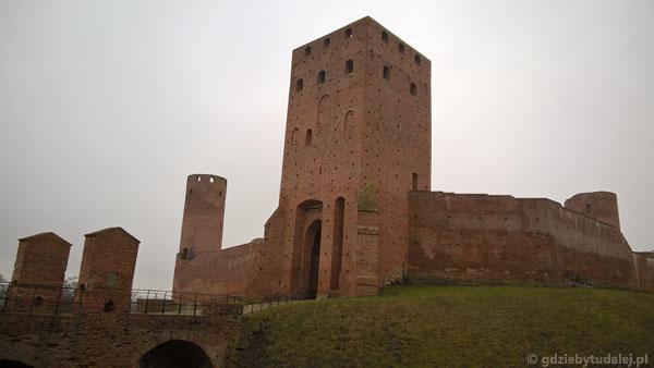 Zamek książąt mazowieckich w Czersku, przeł. XIV i XV w.