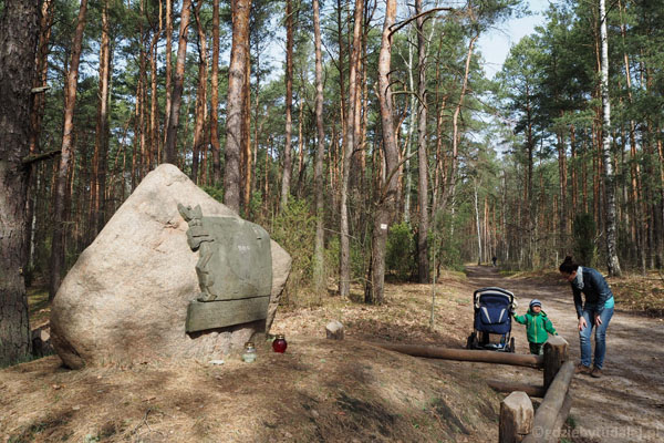 Kamień Ułanów Jazłowieckich.
