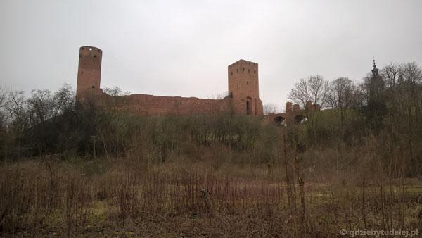 Ostatni rzut oka na zamek.