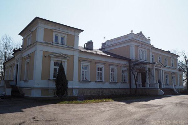 Pałac Starzeńskich został odbudowany pod koniec lat 60.