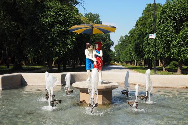 Fontanna Jaś i Małgosia